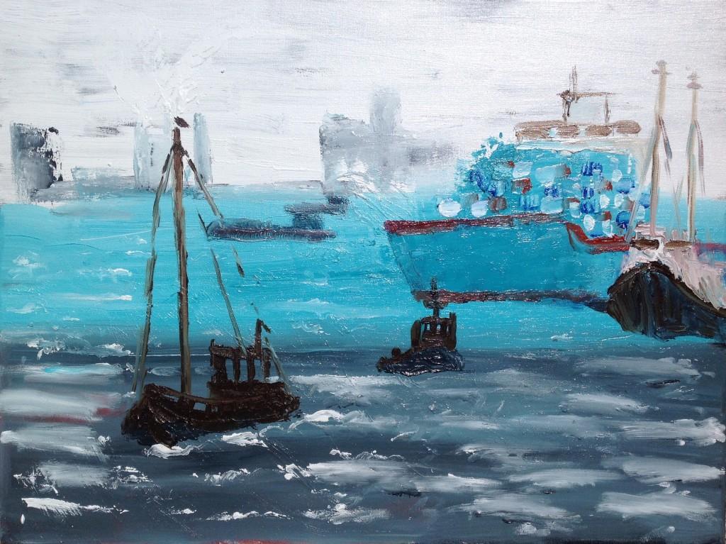 De havens van Rotterdam